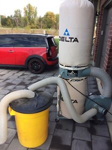 Delta 1.5 horse Dust Collector