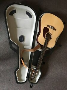 Seagull guitar with Fishman pickup installed and spruce top