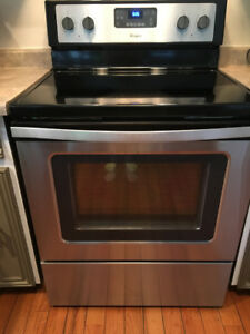 8 month old barely used Stainless Steel Range
