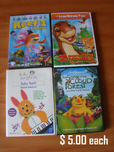 KIDS MOVIES (DVD's)