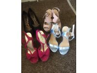Heals size 5 £5 for all together