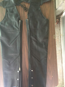 Lady's motorcycle chaps