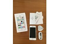 Apple iPhone 5s 32gb mint used for a week o2/Tesco