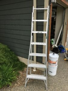 7 foot Step / Extension Ladder