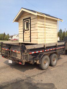 6 ft by 6 ft Insulated Chicken Coop