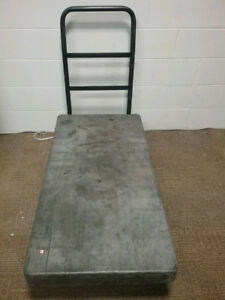 "Rubbermaid heavy duty flatbed platform truck cart 24"" x 48"""