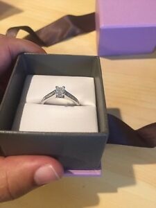 Beautiful 14kt white gold engagement ring PRICE REDUCED