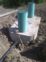 Septic tanks and systems