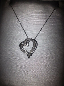 Diamond Heart Necklace! Make an Offer!