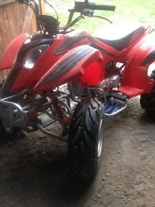 110cc four wheeler