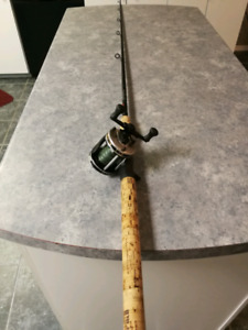 Musky rod and reel