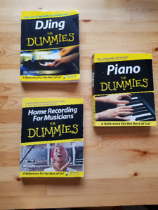 """Assorted """"Dummies"""" books - $5 each or all 3 for $10"""