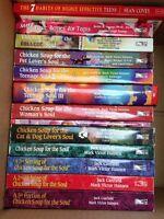 13 chicken soup books