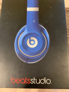 Blue Beats Studio wired. brand new