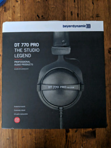 Beyer Dynamic DT 770 Pro Headphones - BNIB