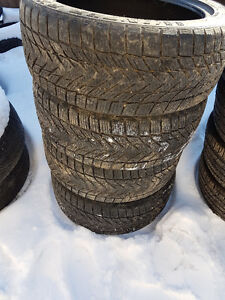 "4 winter tires 18"" 235/45/18"""