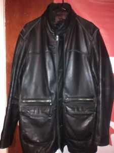 DANIER LEATHER Men's winter jacket Like New 80$ OBO London Ontario image 1