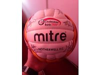 Signed Motherwell Ball