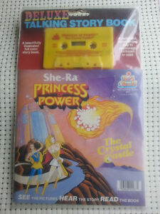 She-Ra Princess of Power Deluxe Talking Story Book