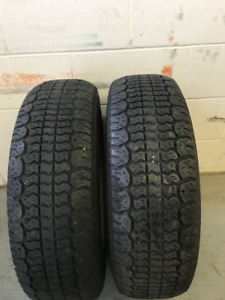 2 - 205 70R 14 COOPER WINTER MASTER PLUS TIRES - $30