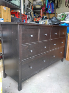 Hardwood Dresser $275obo txt 780-402-9333