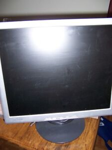 """17"""" Lcd computer monitor $10. Very good condition."""