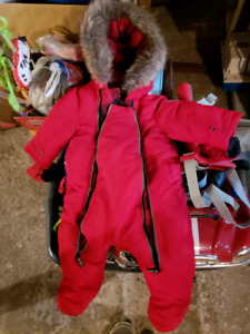 Infant snowsuit