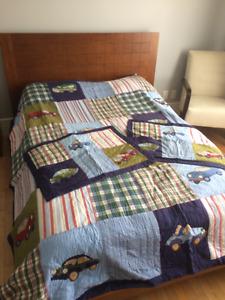 Couvre-lit double pour petit garçon