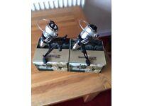 Pair of TF gear speed runner 6000 reels