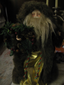 Moving  Sale - Santa Claus decs/use for Top of the X-mas Tree