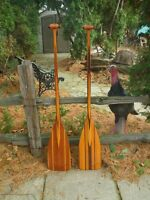 Bent Canoe Paddles by Peter A. Puddicombe - $250.00 each