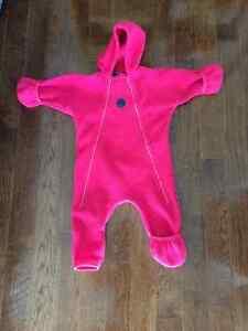 MEC polartec bunting suit