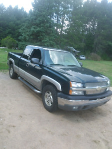 2004 chevy half ton for trade or $2000 obo