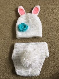 Easter bunny outfit for baby