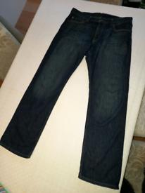 Mens Levi jeans -514- w34 l32