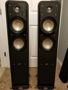 "Polk Signature S55 speakers/10"" powered sub"