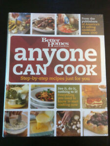 """""""Anyone Can Cook"""" cookbook"""