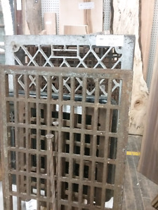 Cast iron grates, kiln-dried wood, tools, antiques + 1000 booths