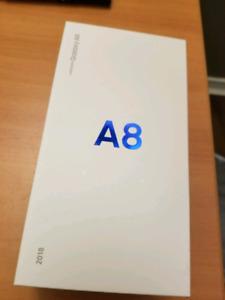 BNIB SEALED Samsung A8 Black 32 GB 1 year Warranty Unlocked