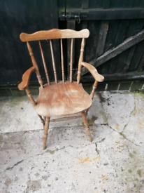 Old captains chair for sale 07555661042