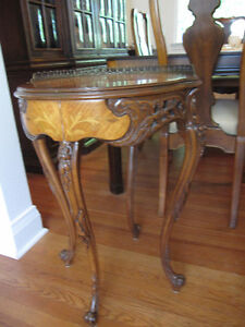 FABULOUS INLAID ANTIQUE TABLES
