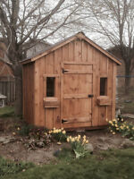 SOLID WOOD SHEDS