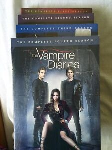 The Vampire diaries season 1-4