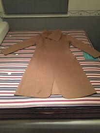 Ladies camel coat