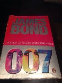 James Bond book set