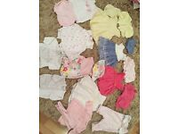 Baby girl bundle to fit 7.5 lbs in like new condition