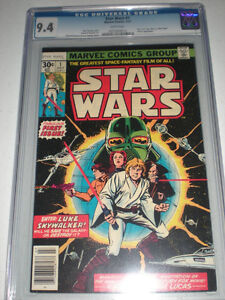 Star Wars #1 CGC 9.4 White Pages