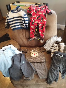 Assorted boys clothing items - sized 18 months