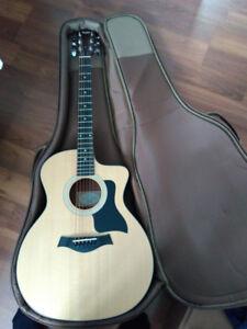 Guitare acoustique taylor 114ce
