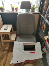 VW Crafter single seat and base